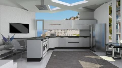 creamy  - Modern - Kitchen - by Nhezart Designs
