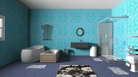 under the sea bathroom - Modern - Bathroom - by Eva the Diva