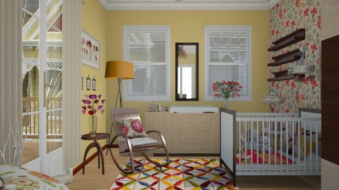 Nursery - Feminine - Kids room - by giulygi