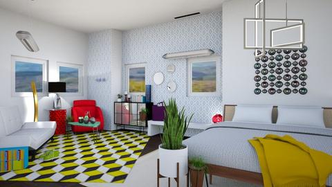 Contest 1 - Eclectic - Bedroom - by Isaacarchitect