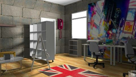 The Studio 2 - Retro - Office - by Campbell32