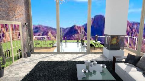Desert Paradise - Rustic - Living room - by AshiraLevana