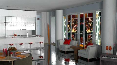 d.meier - Eclectic - Living room - by dmcarrington