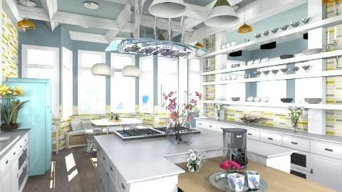 Apartment Kitchens - Classic - Kitchen - by BriaFaith