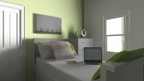 My Room in Green - Kids room - by LittleOwl
