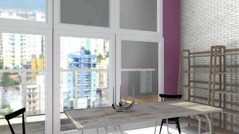 Industrial 1 - Modern - Dining room - by pia