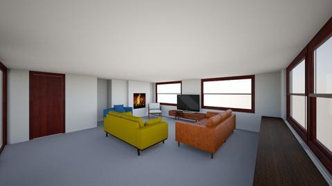 Family Room - Vintage - Living room - by megorourke19