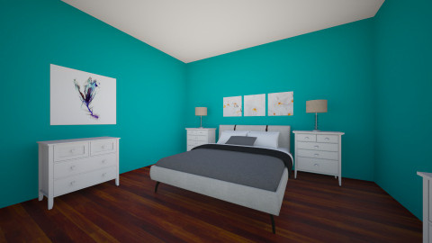 master suit - Bedroom - by mikaela minko