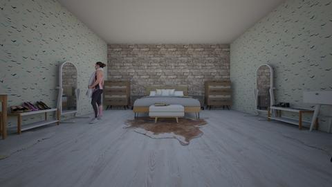 Modern Bedroom for 2  - Modern - Bedroom - by Isabella_colgan