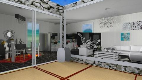 house  black - Living room - by ana lilia