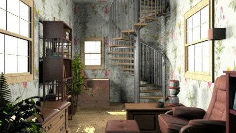 on a desert island - Rustic - Office - by deleted_1550519236_sorroweenah