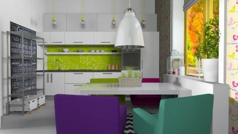 Fun kitchen - Eclectic - Kitchen - by ovchicha