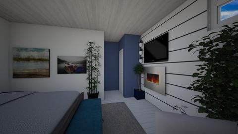 Basement Master 1 - Country - Bedroom - by JaysonKarrie