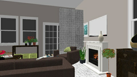 florida house - Living room - by Wilson Jessica