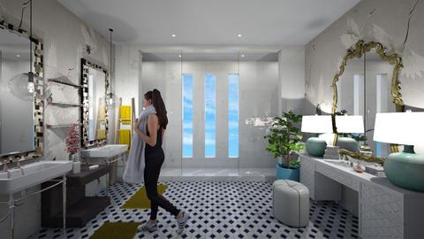 ECLECTIC BATHROOM - by NFP