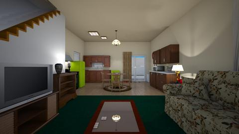 San Diego Townhome - Living room - by WestVirginiaRebel