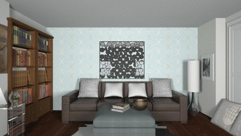 project 2 - Eclectic - Living room - by Desmonde Monroe