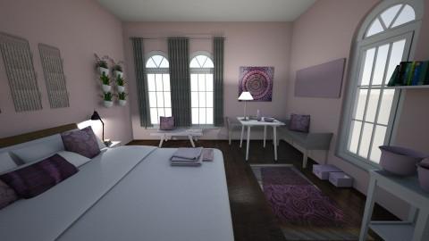 Delicate Pink - Feminine - Bedroom - by XiraFizade