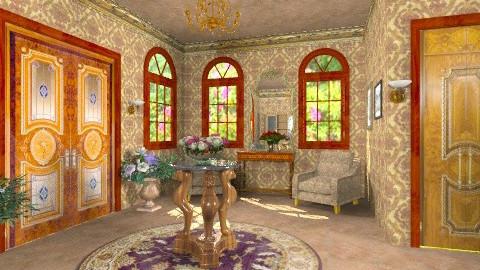 Chic Hallway - Classic - Living room - by Bibiche