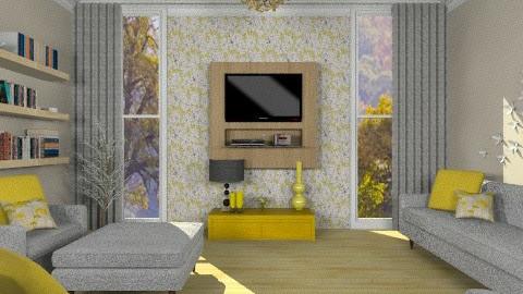 Yellow - Minimal - Living room - by deleted_1566988695_Saharasaraharas