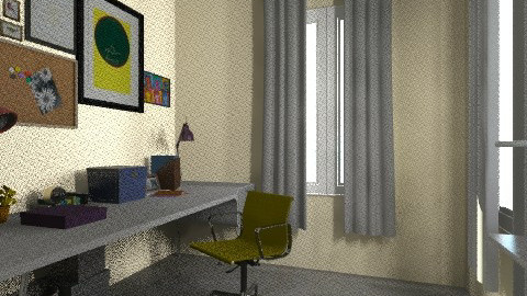 working rooms last2 - Vintage - Office - by bellabravis