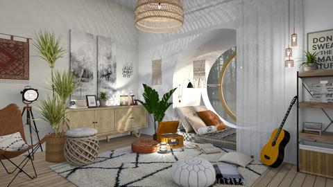 Reading Nook - Eclectic - Living room - by ArcticMoon