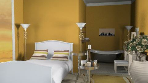 sweet31 - Retro - Bedroom - by catcarla