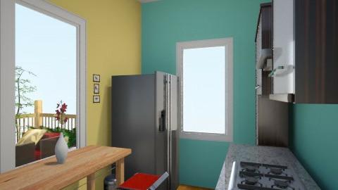 spark of Green 3 - Minimal - Living room - by herjantofarhan