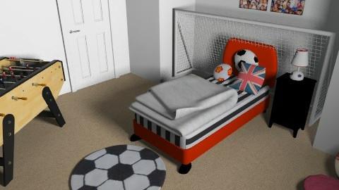 boys football dream - Modern - Bedroom - by lorenemma