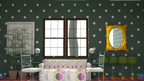 berry room - Glamour - Living room - by dresshop