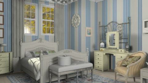 antique - Classic - Bedroom - by RobertaS