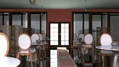 Restaurant Azarrai - Retro - by SariJo