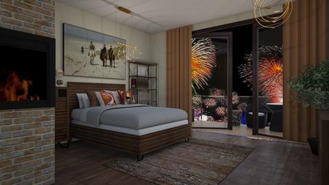 New Year - Modern - Bedroom - by colorful_eye