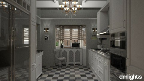 Kitchen in the suburbs - Kitchen - by DMLights-user-991288