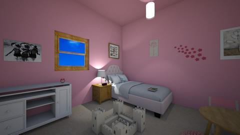 Little Girl bedroom - Feminine - Bathroom - by ellasophia50