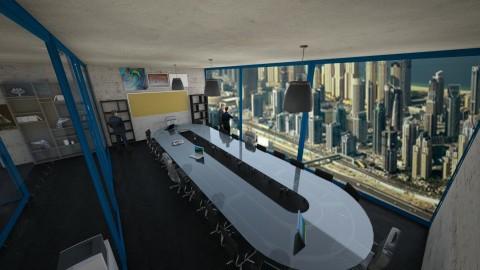 Modern Tech Office - by EmperorRainbow
