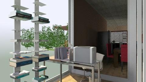 office - Eclectic - Office - by izarochaa