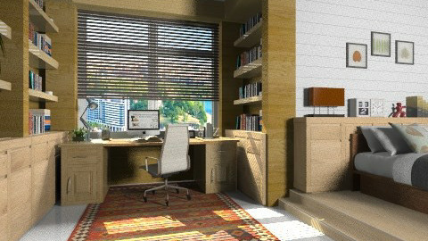 my dream - Office - by XValidze