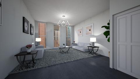 Template room - Living room - by MonseMireles