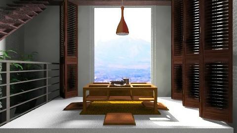 Zen Loft  - Global - Dining room - by vanessa_designs