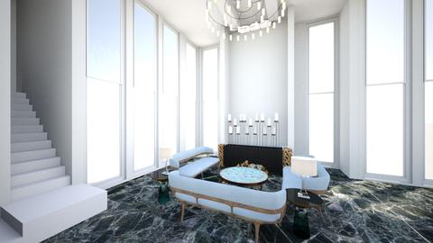 Marble sand - Living room - by vladahoroshevska