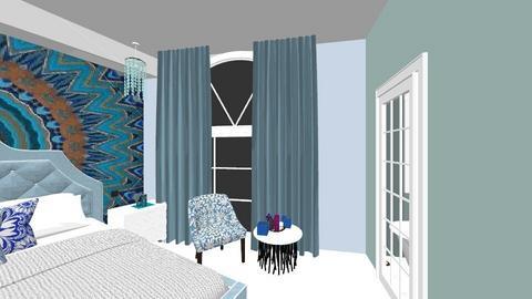 plan parter GATA - Bedroom - by TusaTimea