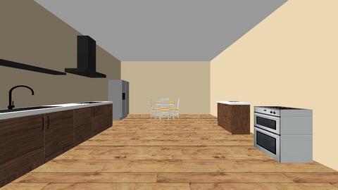 kitchen - by kamayia