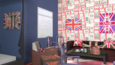 Jack Wills Bedroom - Vintage - Bedroom - by lisyy