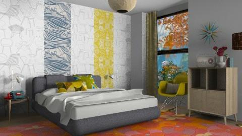 Retro: Bed - Retro - Bedroom - by 3rdfloor