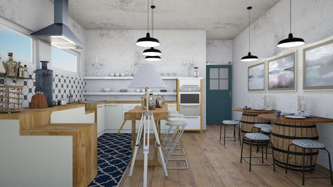 Barrel - Kitchen - by chania