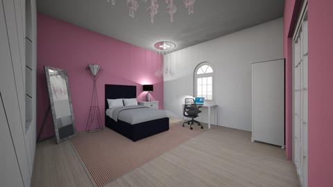 Bians room - Glamour - Bedroom - by XxlovedecorationxX
