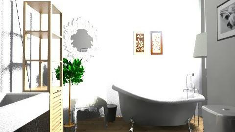 Romantic room - Retro - Bathroom - by Cristina Stramaglia