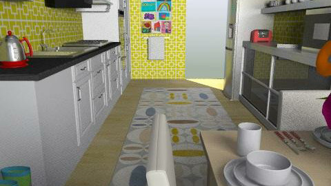 For MzCurlyGurl 1 - Eclectic - Kitchen - by Theadora