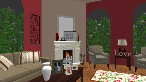 Casual Living Room - Country - Living room - by egrimsley